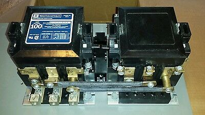 Mc-0-274-12 Telemecanique 100 Amp 3 Phase 120V 60Hz Transfer Switch Contactor