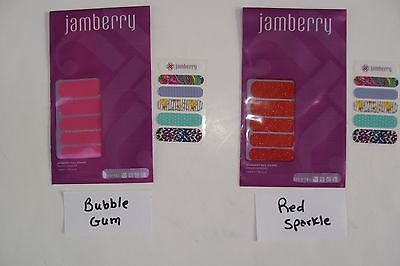 Jamberry Nails Wraps Half Sheet Various Designs + Sheet Accent Nails NEW