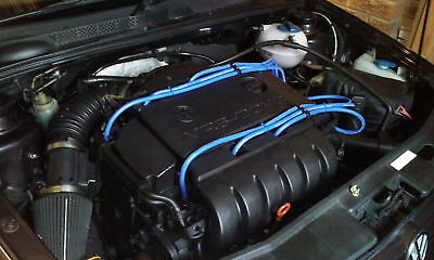 VW Golf VR6 AAA ABV with MSD Fittings,10mm Formula Power RACE QUALITY HT leads