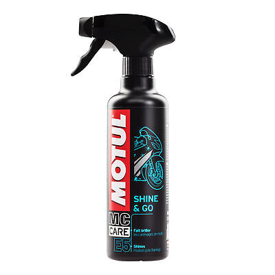 Motul E5 Shine And Go Motorcycle Plastic Cleaner - 400ml