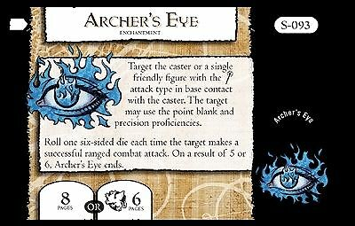 Mage Knight Omens S-093 Archer's Eye