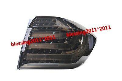 LED Rear Lamp LED Tail Light BMW Style Black For Toyota Highlander 2012-2013 AA4