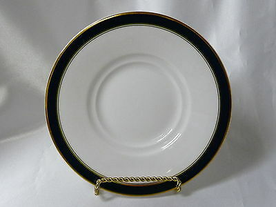 Towle Silversmiths Fine Bone China Colonnade Blue Saucer 6.25""