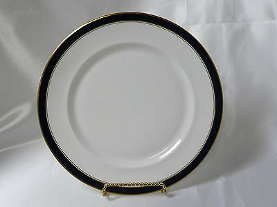 Towle Silversmiths Fine Bone China Colonnade Blue Salad Plate 8.5""