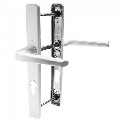 Hoppe Ferco 70PZ Door Handle UPVC / Lever Lever 200mm Centres / White DH4713 WH