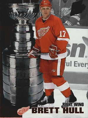 2002-03 Pacific Quest For the Cup Raising the Cup #6 Brett Hull