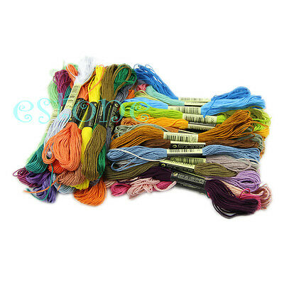 50 Variegated Anchor Cross Stitch Cotton Embroidery Thread Floss *Best Deal