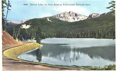 WY - SYLVAN LAKE, On Cody Road to YELLOWSTONE NATIONAL PARK