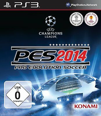 Pro Evolution Soccer 2014     PES 2014  PS3  Playstation 3   !!!!! NEU+OVP !!!!!