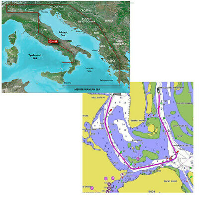 GARMIN Bluechart G2 HD MAR ADRIATICO HXEU014R art. 010-C0772-20