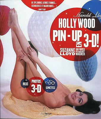 HOLLYWOOD PIN-UP en relief 3-D Avec les Lunettes ..SEXY.EROTIQUE.GLAMOUR..NEUF