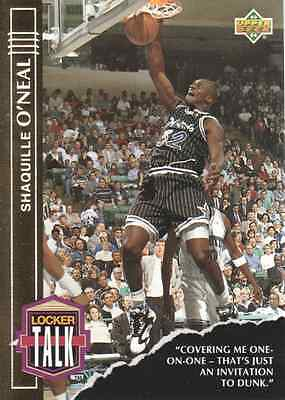 1993-94 (BKB) Upper Deck Locker Talk #LT3 Shaquille O'Neal