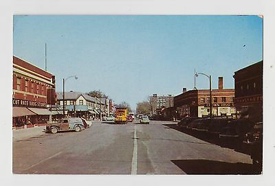 North Kansas City,MO.Armour & Swift Streets,Vintage Cars,Clay County,c.1950s