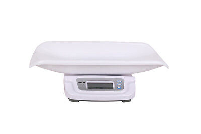 Baby Scale 20kg/5g Electronic Digital Pediatric Scales Weight Monitor LCD Screen