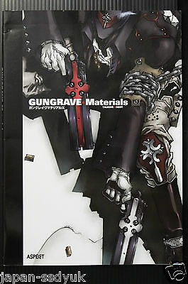 Gungrave Materials Yasuhiro Nightow official art book