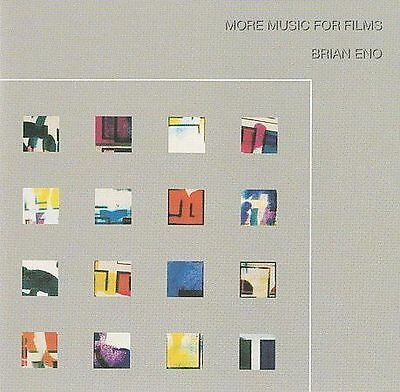 BRIAN ENO More Music For Films CD BRAND NEW