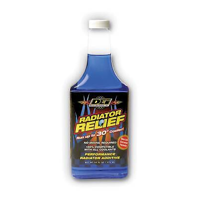 DEI Radiator Relief Cooling System 16oz - 473ml Bottle Treats 15L Of Coolant