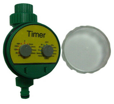 ELECTRONIC AUTOMATIC WATER TIMER GARDEN WATERING IRRIGATION SYSTEM - 2 x AAA req