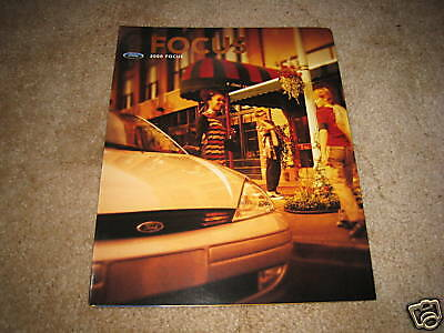 2000 Ford Focus ZX3 LX SE ZTS sales brochure dealer car auto literature