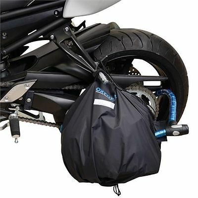 Oxford Motorcycle Helmet Lid Locker Storage Secure Portable Security Bag - Of211