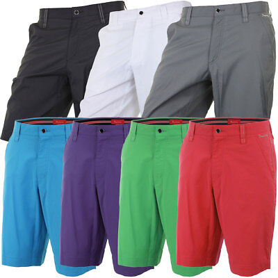 33% OFF RRP Dwyers & Co Mens Micro Tech 2.0 Golf Shorts Performance Flat Front