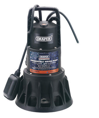 Draper 69690 320L/Min (Max.) 1000W 230V Submersible Dirty Water Pump with Float