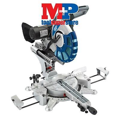 Draper 28045 305mm Double Bevel Sliding Compound Mitre Saw with Laser Cutting Gu