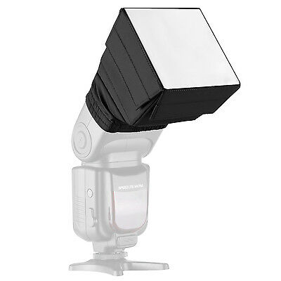 Pop-Up Universal Soft Screen Box External Flash Diffuser for Canon Nikon EM#01