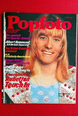 Sweet Brian Connolly Cover Ringo Starr '75 Deep Purple End? Sparks Abba Magazine