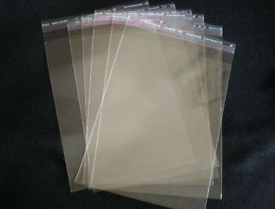 125 x 170mm C6 (1000 qty) Crystal Clear Cello Cellophane Reseal Bags for Cards