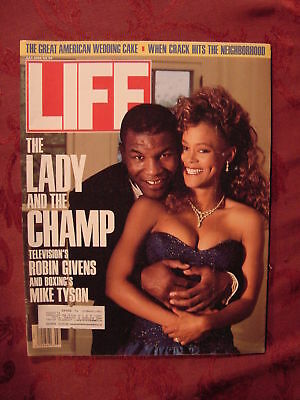 LIFE July Jul 1988 ROBIN GIVENS MIKE TYSON PAUL HOGAN +