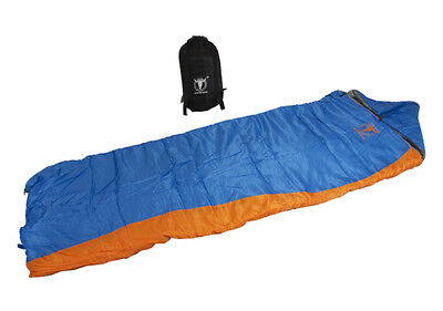 2 x ARCTICå¨ DOUBLE TWIN CAMPING OUTDOOR TENT SLEEPING THERMAL BAG