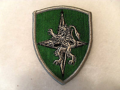 1960/70's ALLIED LAND FORCES CENTRAL EUROPE PATCH MERROWED EDGE