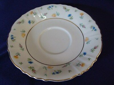 SYRACUSE CHINA FEDERAL SHAPE SUZANNE SAUCER 5-3/4""