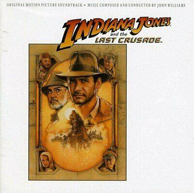 Indiana Jones And The Last Crusade - John Williams (NEW CD)