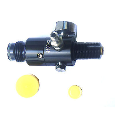 NEW 4500psi AIR TANK REGULATOR OUTPUT PRESSURE 800psi