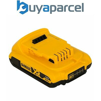 Dewalt DCB183 XR 18v Lithium Ion Battery Pack Li-Ion 2.0Ah DEWDCB183