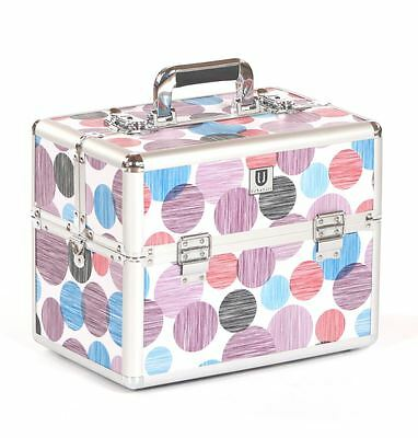 dog pet cat grooming tool tools storage tack box show travel case bag purple spo