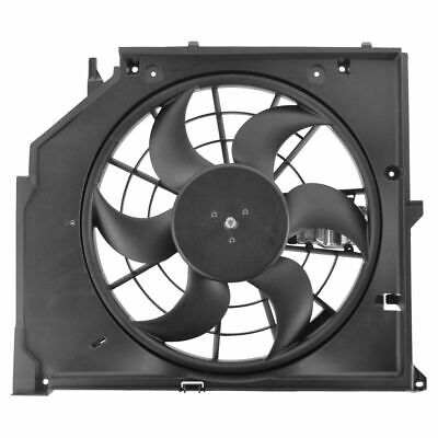 Puller Radiator Cooling Fan Assembly for BMW 3 Series E46 New