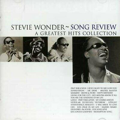 Stevie Wonder - Song Review Greatest Hits (NEW CD)
