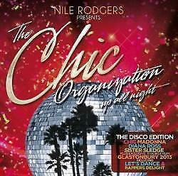 Nile Rogers Presents The Chic Organization - Up All Night: The Greatest (NEW CD)