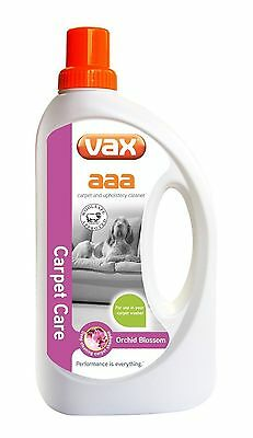 Vax AAA Carpet & Upholstery Improved Formular Cleaning Solution Shampoo 750ml
