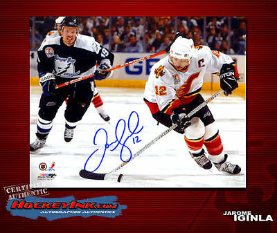 b0854c5bf1e BOSTON BRUINS JAROME Iginla Signed 11X14 - $102.99 | PicClick