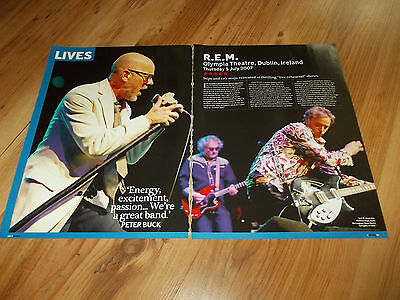 R.E.M-2007 magazine article