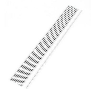 DIY Car RC Helicopter Toy Stainless Steel Round Axles Rod Bar 2.5mmx200mm 10 Pcs