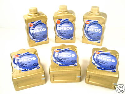 NEW Eneos 0W20 Synthetic Motor Oil JDM 1 Case 6 Quarts