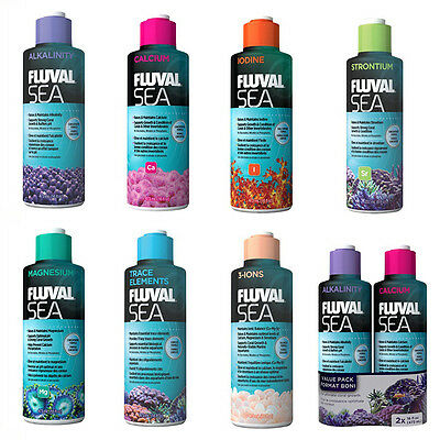 Aquarium Marine Reef Fish Tank Water Treatment Fluval Sea Treatments 237 / 473ml