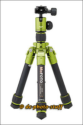 "MeFoto DayTrip A0320Q00 Compact Tripod Kit GREEN * 9.4"" Folded / 24"" Opened"