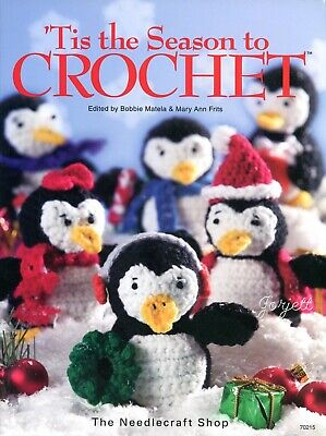 Tis the Season to Crochet, 75+ Christmas Holiday & Gift crochet pattern book NEW
