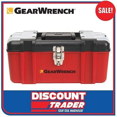 """GearWrench 16.5"""" / 419mm Plastic Tool Box - 83148"""